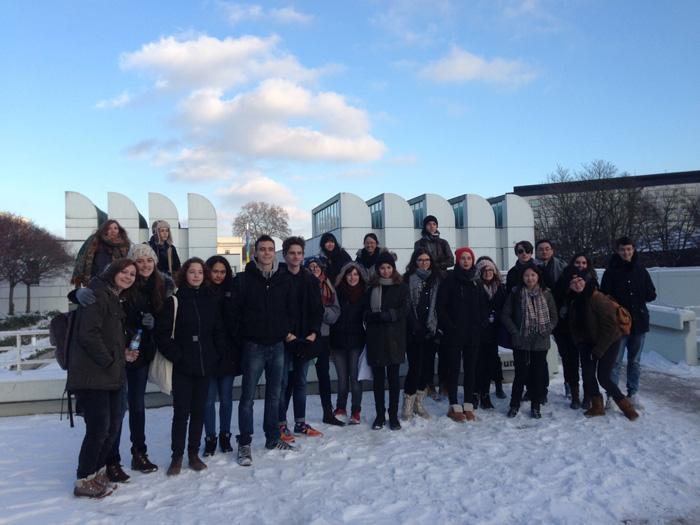 Une visite de trois jours à Berlin pour une classe de terminale STD2A.