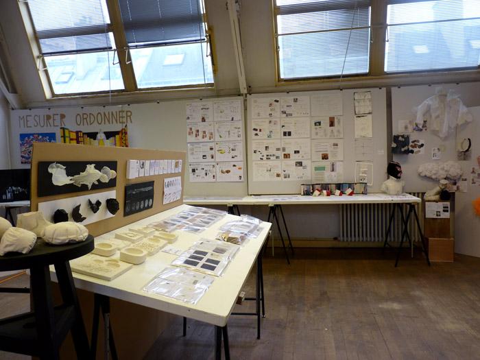 En terminale, les élèves travaillent sur des projets d'arts appliqués.