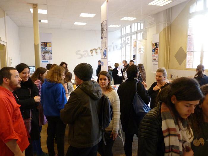 En BTS DCEV, les élèves et les enseignants renseignent les futurs candidats.