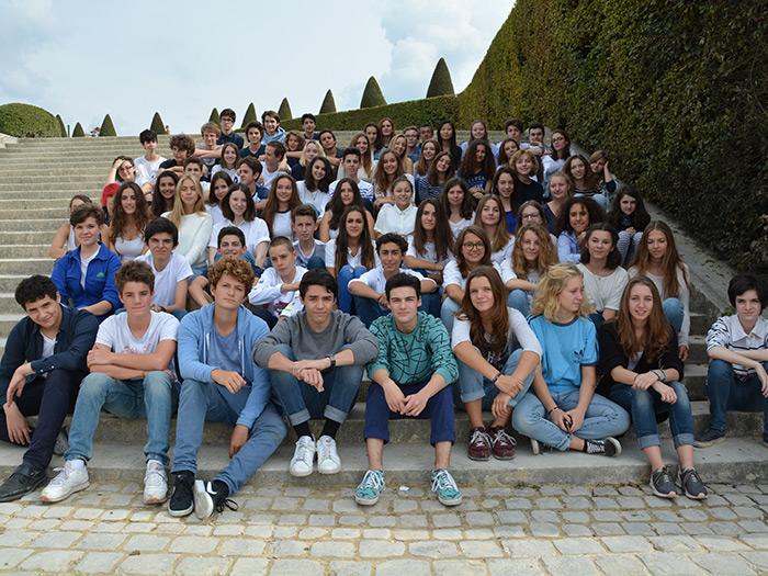 Visite au château de Versailles pour les secondes STD2A.